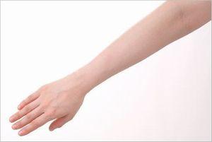 手首の小指